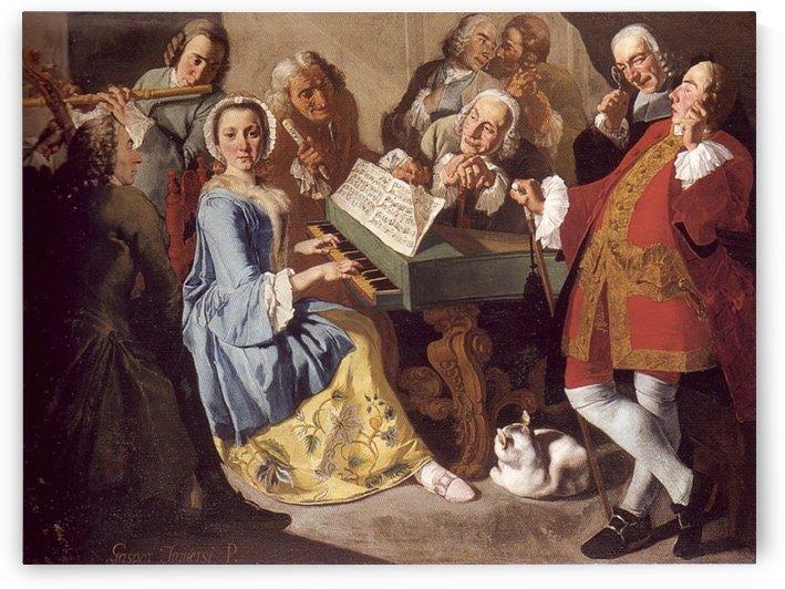 Das Konzert by Gaspare Traversi