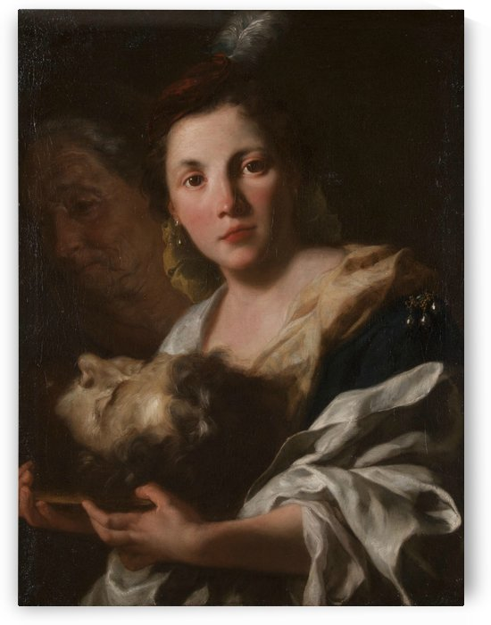 Judith with the head of Holofernes by Gaspare Traversi