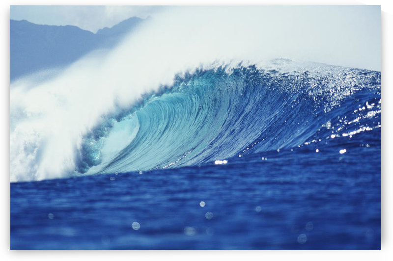 Hawaii, Oahu, Perfect Wave At Pipeline. by PacificStock