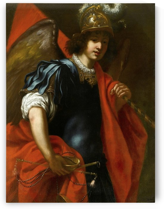 The Archangel Michael by Jacopo Vignali