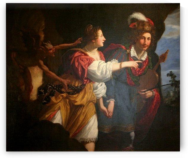Orphee et Eurydice by Jacopo Vignali