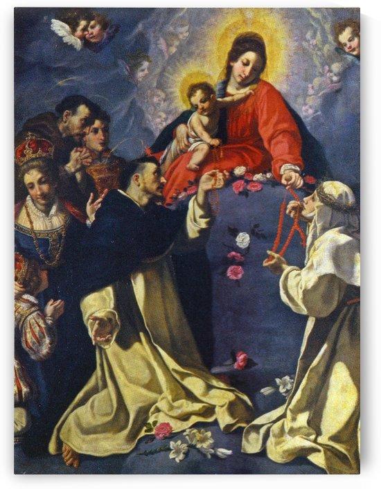 Madonna del Rosario by Jacopo Vignali