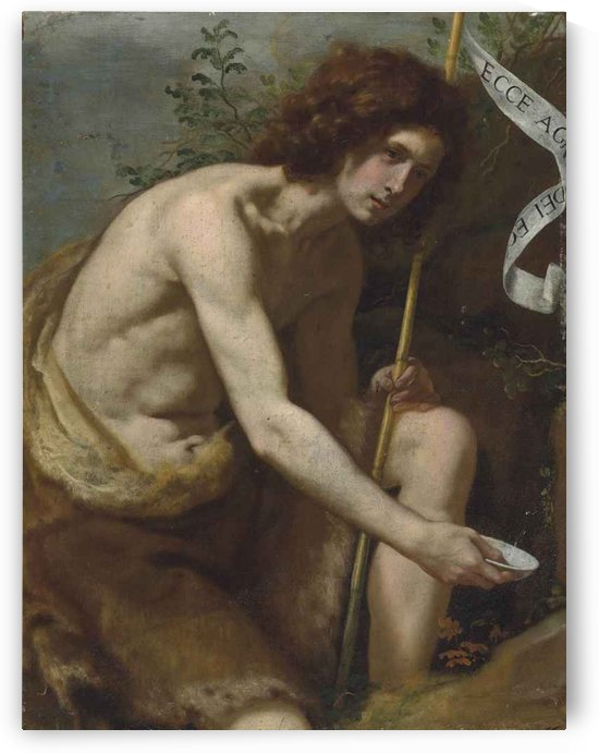 Saint John the Baptist by Jacopo Vignali