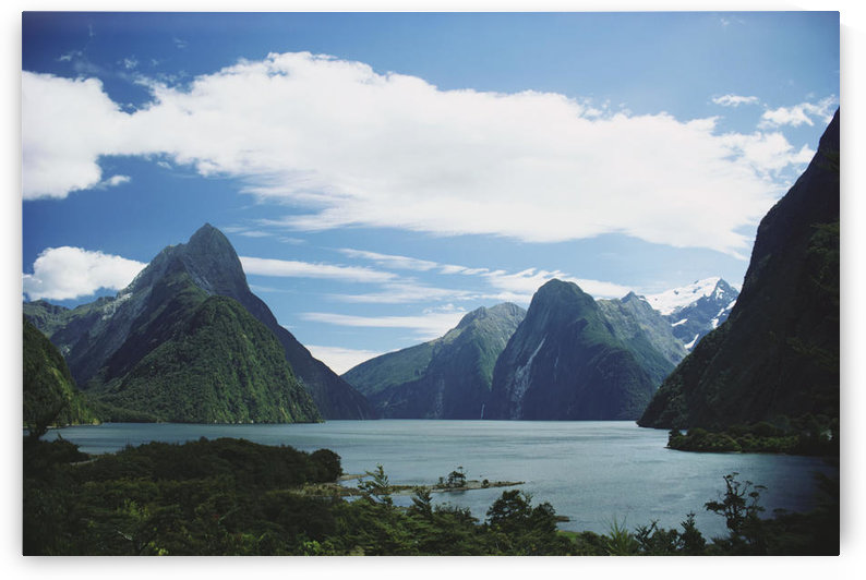 New Zealand, Fiordlands National Park, Milford Sound. by PacificStock