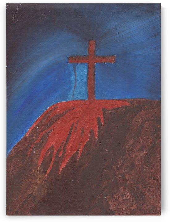 Bloody Cross by Darryl Sanders
