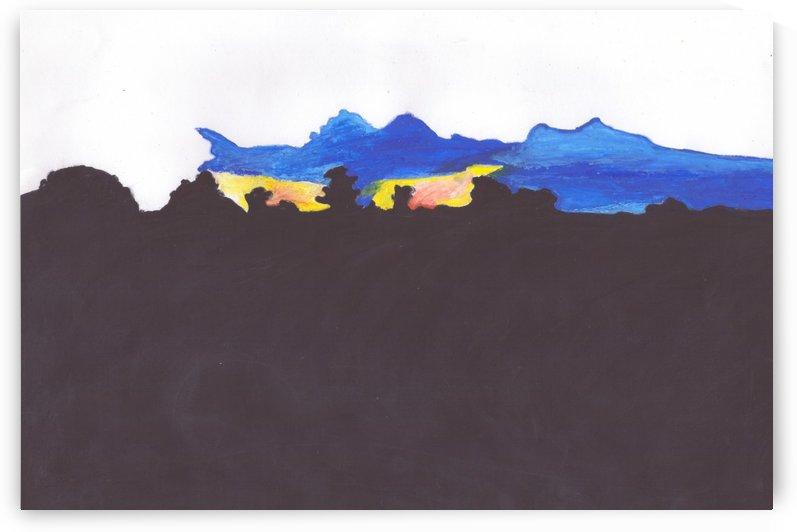 Black and Blue015 (2) by Darryl Sanders