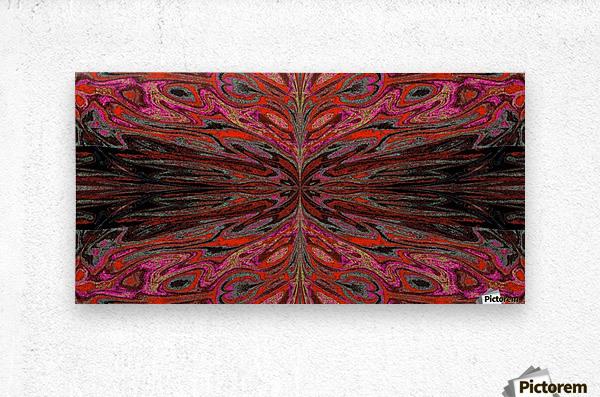 Queen of the Butterflies 55  Metal print
