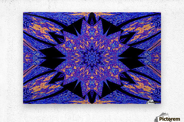 Sapphire of The Desert  Metal print
