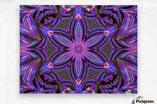 Psychedelic Jasmine 1  Metal print