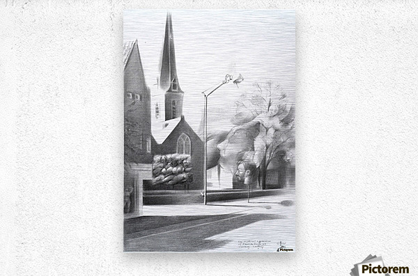 The mythical appearance of Alexis de Roode at Voorburg - 15-05-17   Metal print