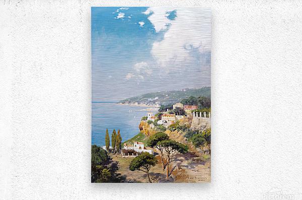 Sunny day on Naples Bay  Impression metal