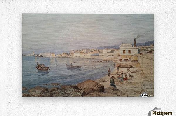 Marina di Napoli  Impression metal