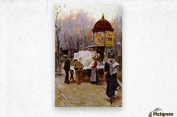 Paris, 1899  Impression metal