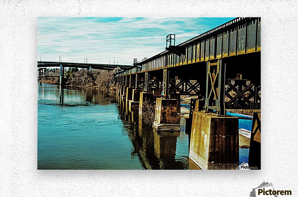 Bridge Over Troubled Waters  Metal print