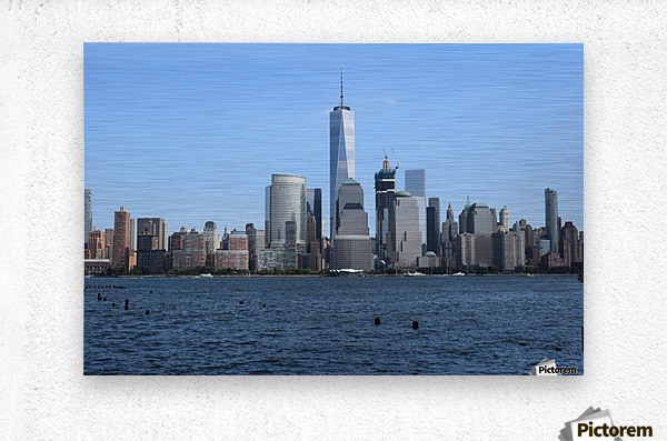 MANHATTAN, NEW YORK  Metal print