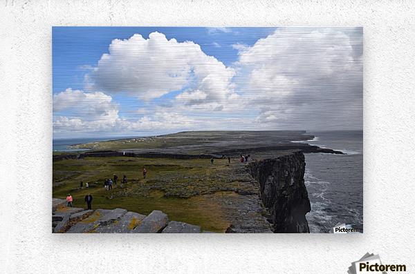 INIS MOR, THE ARAN ISLANDS  Impression metal