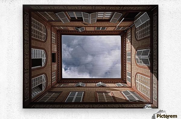 The Sky.......  Metal print