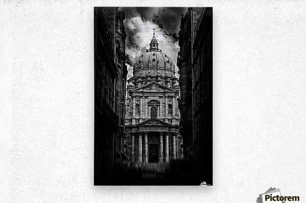 PARIS or ROMA   Metal print