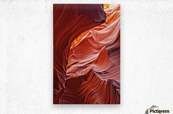 Lower Antelope Canyon, Arizona  Metal print