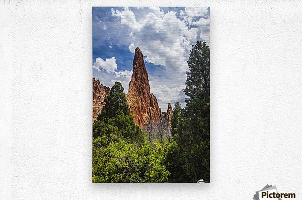 Garden of the Gods; Colorado Springs, Colorado, United States of America  Metal print