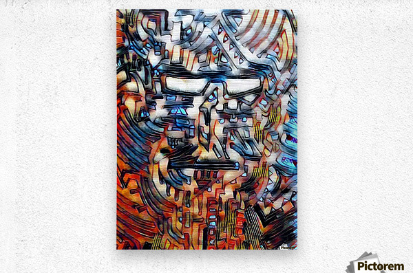 compuman  Metal print