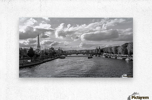 Paris je t'aime!  Metal print