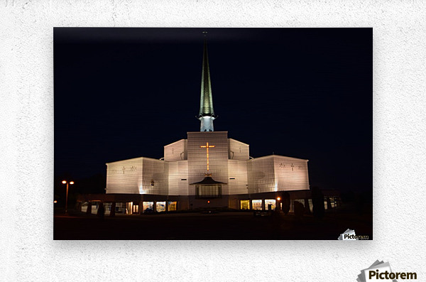 KNOCK SHRINE, CO.MAYO  Metal print