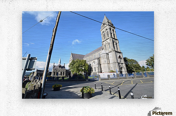 CATHEDRAL, SLIGO  Metal print