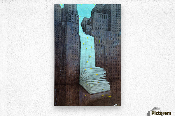 dream book  Metal print