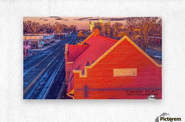 Lonoke, AR | Red Oak   Metal print