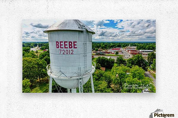 Beebe, AR | Water Tower  Metal print