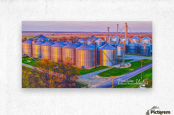 Carlisle, AR | Kittler Grain Bins   Metal print