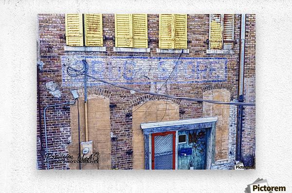 Lonoke, AR | Lyon's Drug Store  Metal print