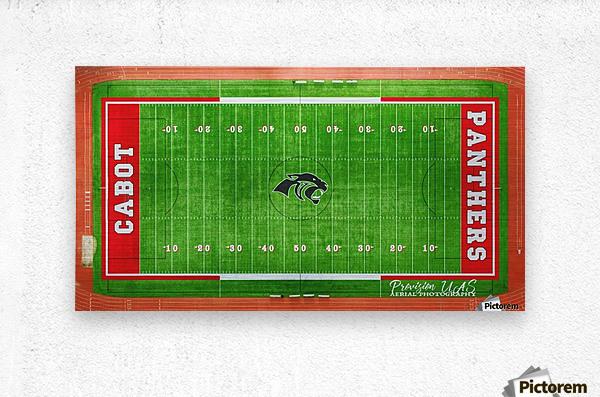 Cabot, AR | Panther Football Field  Metal print