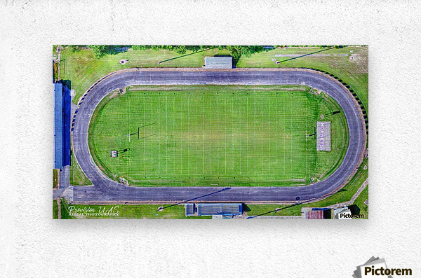 Hazen, AR | Hornets Football Arena  Metal print