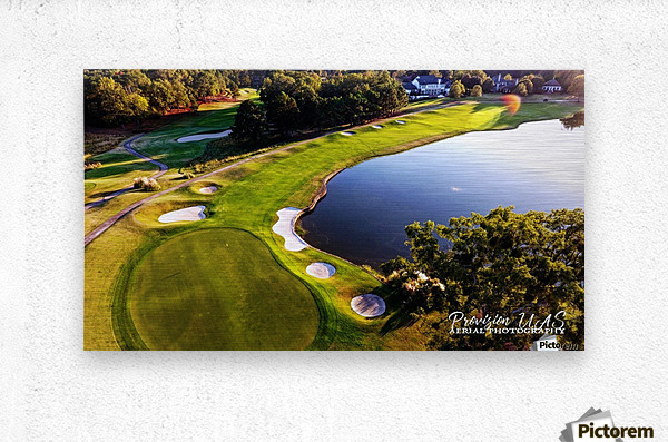 Westpoint, MS   The 18th Hole  Metal print