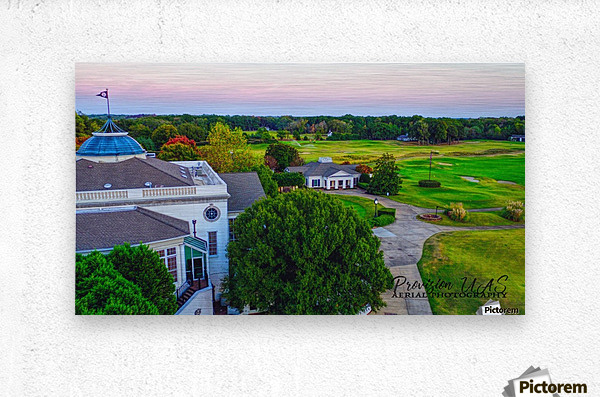 Westpoint, MS | Old Waverly Club House  Metal print