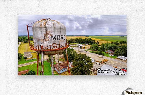 Moro, Ar | Water Tank  Metal print
