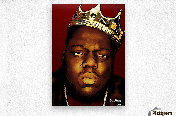 Biggie Smalls aka Notorious B.I.G  Metal print