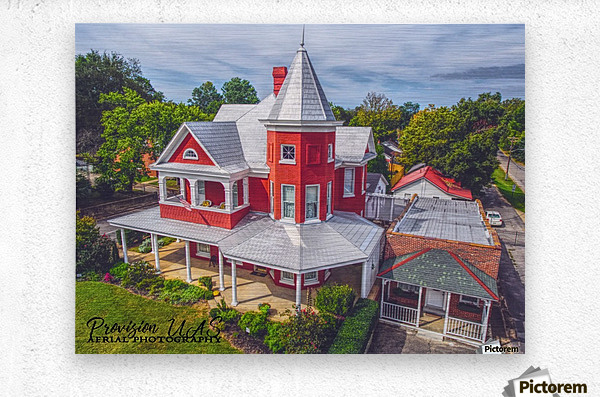 Lawrenceburg, TN   The Garrett House  Metal print