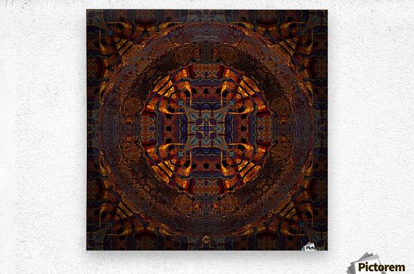 Tamarin  Metal print