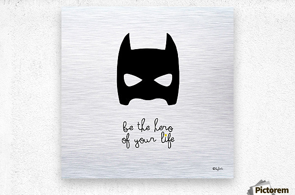 BATCHILD  Metal print