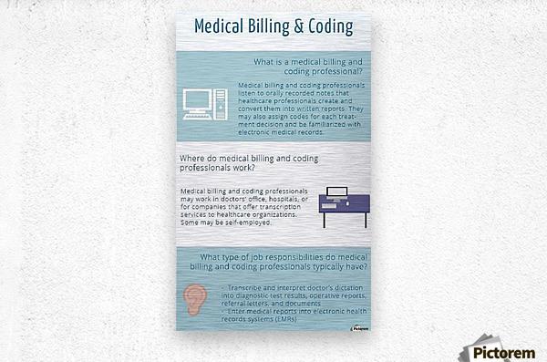 Infographic-Transwise  Metal print
