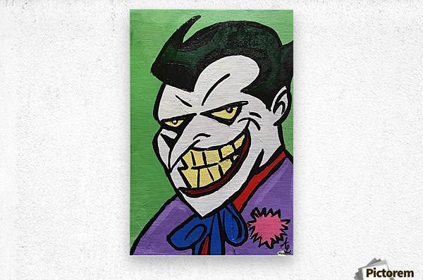 Joker  Metal print