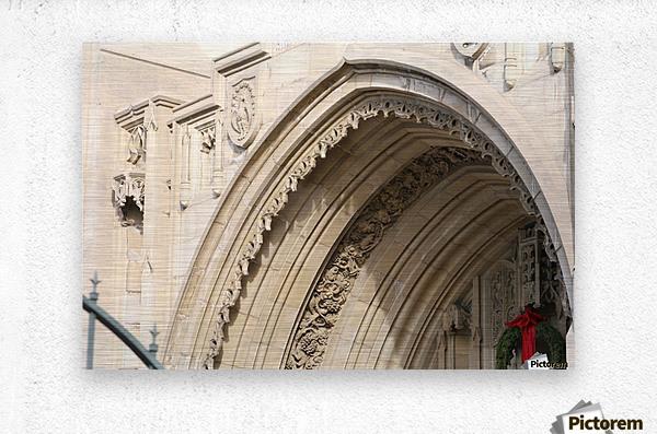 Church Arch  Metal print