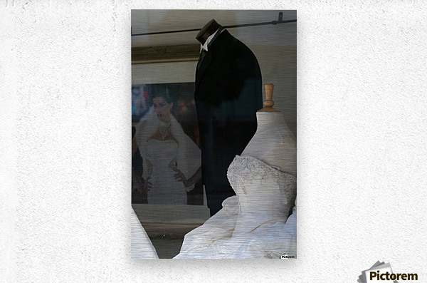 Mr. and Mrs. Forms  Metal print