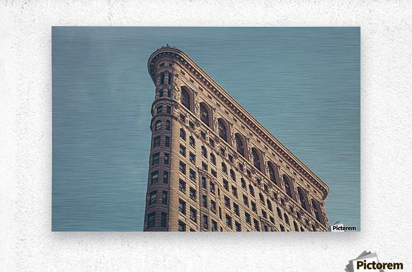 New York Flatiron Building 2  Metal print