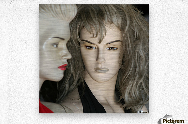 Mannequin Dreams  Metal print