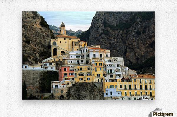 Amalfi  Old Town - Italy  Metal print