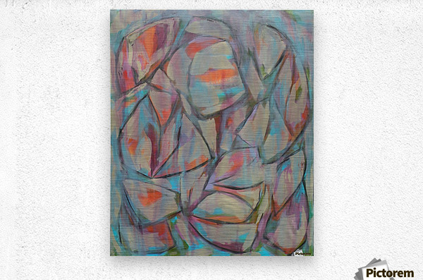 Blossoms -3  Metal print